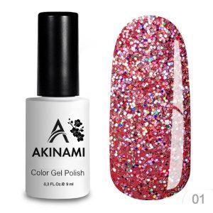 Гель-лак Akinami - Арт. ACD01 - Disko 01