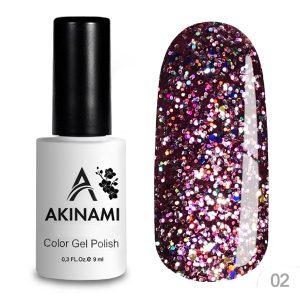 Гель-лак Akinami - Арт. ACD02 - Disko 02