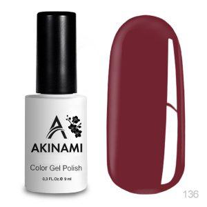 Гель-лак Akinami - Арт. AСG136 Crimson