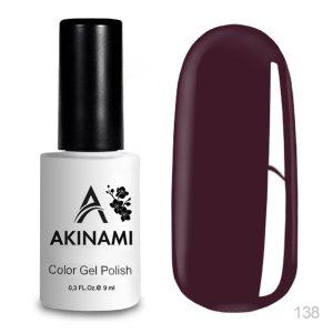 Гель-лак Akinami - Арт. AСG138 Burgundy
