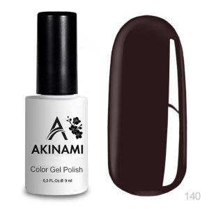 Гель-лак Akinami - Арт. AСG140 Dark Burgundy