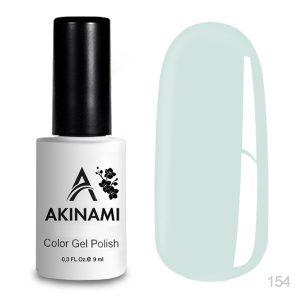 Гель-лак Akinami - Арт. AСG154 White Green