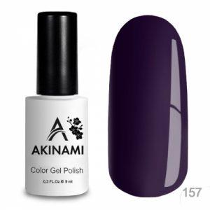 Гель-лак Akinami - Арт. AСG157 Black Violet