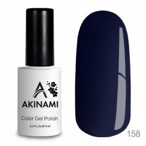 Гель-лак Akinami - Арт. AСG158 Black Blue