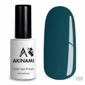 Гель-лак Akinami - Арт. AСG160 Green Blue