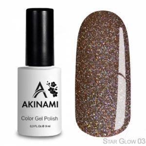 Гель-лак Akinami - Арт. ACS03 - Star Glow 03