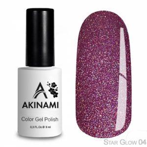 Гель-лак Akinami - Арт. ACS04 - Star Glow 04