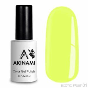 Гель-лак Akinami - Арт. ACEF01 Exotic Fruit 01