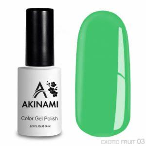 Гель-лак Akinami - Арт. ACEF03 Exotic Fruit 03