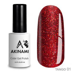 Гель-лак Akinami - Арт. ACTG01 Tango 01
