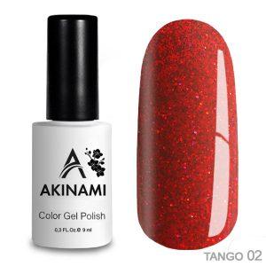 Гель-лак Akinami - Арт. ACTG02 Tango 02