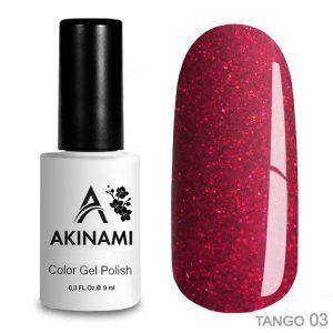 Гель-лак Akinami - Арт. ACTG03 Tango 03